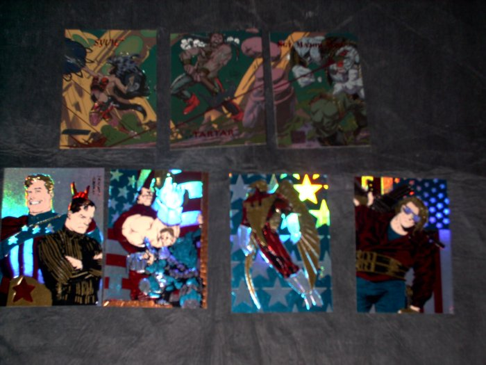 Creators Universe -7 Foil Chase Cards- FREE SHIPPING!!!