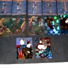 CREATORS UNIVERSE -7 FOIL+ 5 CHECKLIST CARDS+SHIPS FREE