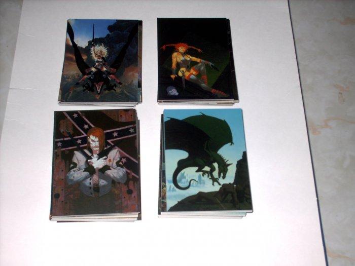 MASTERS OF FANTASY 90 CARD CHROMIUM SET - SHIPS FREE
