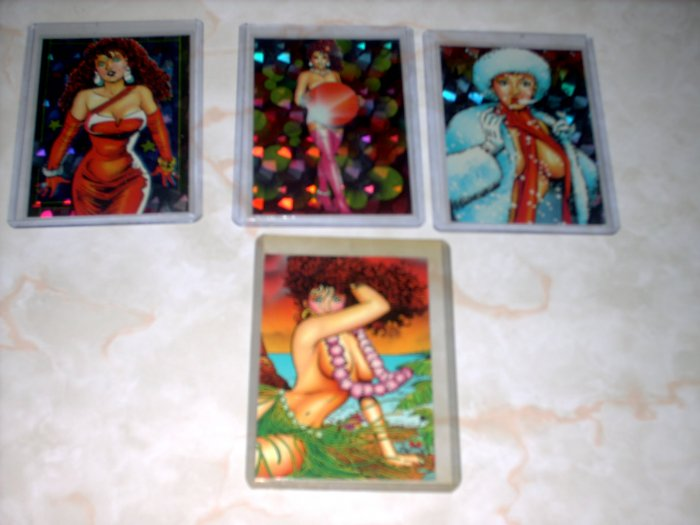 SACHS & VIOLENS 4 CARD CHASE / INSERT LOT + SHIPS FREE