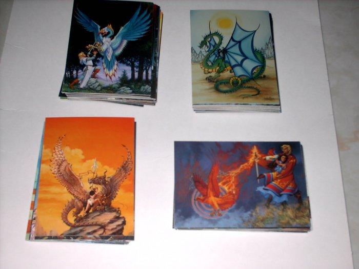 JANNY WURTS 60 CARD FANTASY ART SET + SHIPS FREE