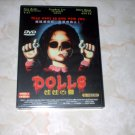 DOLLS - DVD - NEW  -- STUART GORDON + SHIPS FREE