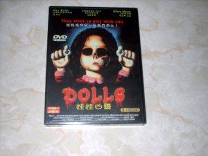 DOLLS - DVD - NEW  -- STUART GORDON + SHIPS FREE