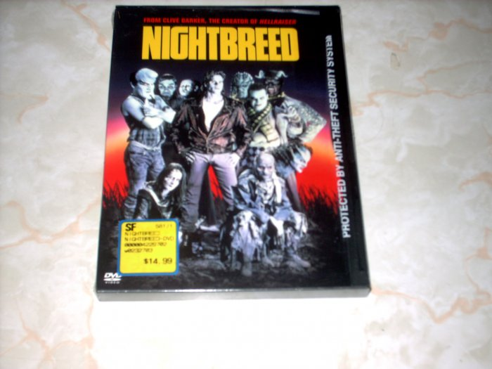 NIGHTBREED - DVD- NEW - NIGHT BREED  -SHIPS FREE