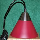 Red dome-shaped pendulum light