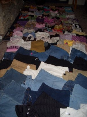 NWT Lot of 150 Clothes from BabyPhat, Ecko, Abercrombie, Hollister. GREAT RESALE!!!