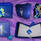 Tinker Bell CD/DVD Carry Case - Blue