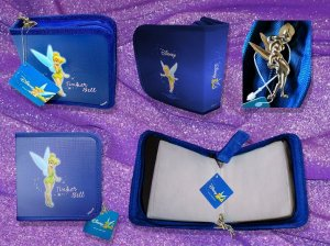 Tinker Bell CD/DVD Carry Case - Blue