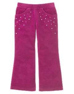 Girls Gymboree Winter Princess Velour Pants Sz 3