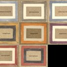 ACEO HAND MADE WOOD PICTURE FRAMES 2½X3½ Various colors
