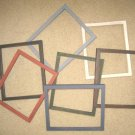 6 PRIMITIVE PICTURE FRAMES NEW YOU PICK SIZES AND COLORS