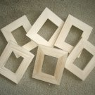 ACEO (wallet size) picture frames (3) Unfinished 2½x3½