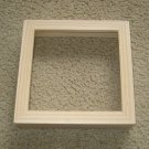 Shadow box frame unfinished 8x8 Made in the USA
