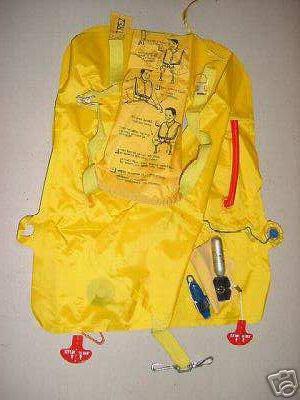 Airline Passenger Emergency Life Vest, TUL-6174