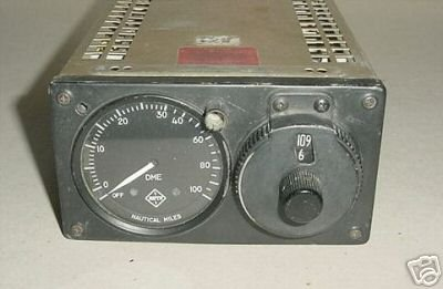 Aircraft, Vintage self contained Narco DME, CNIR618