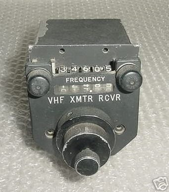 Aircraft, Vintage VHF Comm Control Panel