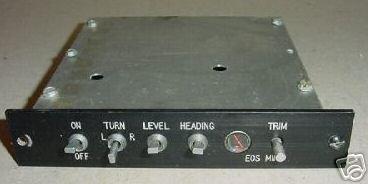 Aircraft Avionics, Autopilot Control Panel