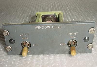 69-15970-5, Boeing 727 Window Heat Control Panel Module