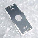 26064-0005, 260640005, Autopilot Flight Director Switch Placard