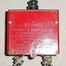 MS24571-2, 6752-12-2, 2.5A Klixon Aircraft Circuit Breaker
