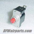 PSM-2, 43A8304-2, 2A Aircraft Klixon PSM Series Circuit Breaker