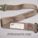 501690-401-2257, 501690-401, Aircraft Seat Belt Segment