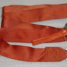 Aircraft Seat Belt Shoulder Harness Strap, Brick Red color
