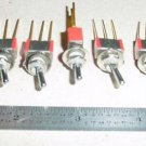7101, CH-7101, Lot of Nos Aircraft Toggle / Micro Switches