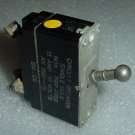 AN3160-15, MILC7079, Vintage 15A Aircraft Toggle Circuit Breaker