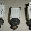 7774-11-5, MS22073-5, Lot of 5A Klixon Aircraft Circuit Breakers