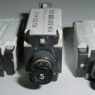 MS25244-5, MS25244-15, Lot of 5A and 15A Circuit Breakers