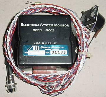 800-28, 80028, 28V Aircraft Electrical System Monitor