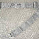 NEW!! Aircraft Silver Seat Belt Shoulder Harness, 1101440-07
