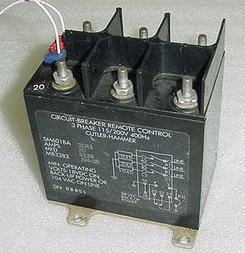 Sm601ba20a1 M833830405 Remote Control Circuit Breaker