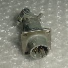 Aircraft Instrument Cannon Plug Connector, 45100RC10-6P-50