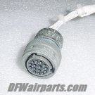 MS3476W14-15P, MB16W-1415S, Aircraft Avionics Connector Plug