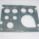 10-60725-1314, 1060725-1314, Boeing EL Light Plate Panel