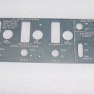 10-60725-230, 1060725-230, Boeing EL Light Plate Panel