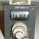 Aircraft VHF Nav Control Panel Selector