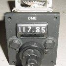 Nos Gables Aircraft DME Control Panel / Selector Head