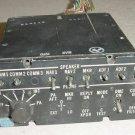 Twin Cessna Audio Control Panel