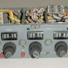 VHF Multi Comm Control Selector Panel, 3 Comms 2 Navs