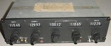 G-4142, G4142, Gables Multi VHF Comm / Nav Control Panel