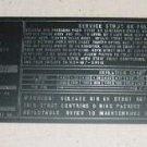 3924406-1, 39244061, McDonnell Douglas DC-8 Landing Gear Placard