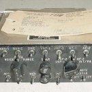 Vintage Boeing 707 Audio Control Panel w Serv tag