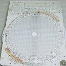 MK7 Military Jet Aircraft Chart Plotter Board Kneeboard