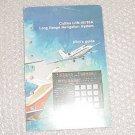 Collins LRN-85, LRN-85A Navigation System Pilot Guide