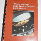 Sperry SPI 501, SPI 502 Flight Director Pilot Manual