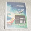 Collins LRN-85, LRN-85A Navigation System Owner Manual