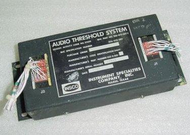 206-075-597-1, 1021D001, Audio Threshold System Unit